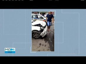 Rapaz foge de abordagem policial e é preso com carro roubado de taxista em Timóteo - Perseguição aconteceu por quase 25 quilômetros e suspeito foi detido em Timóteo. Roubo ao taxista foi registrado no domingo (29).