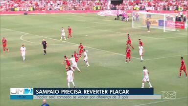 Sampaio perde o primeiro jogo contra o Náutico em Recife - Com a derrota, título da série C ficou mais distante do clube maranhense.
