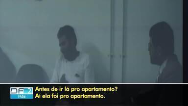 Acusação exibe depoimentos de condenados no caso Adriana Villela - Em gravações, eles dão detalhes do suposto envolvimento da ré. Defesa alega que condenados mudaram versão várias vezes e que foram pressionados pela polícia.