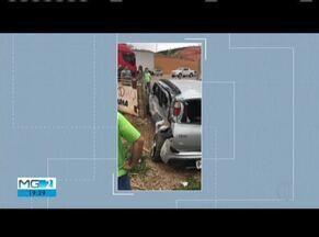 Homem morre em acidente na BR-116 em Caratinga - De acordo com a PRF, vítima fez manobra irregular e foi atingido por uma carreta.