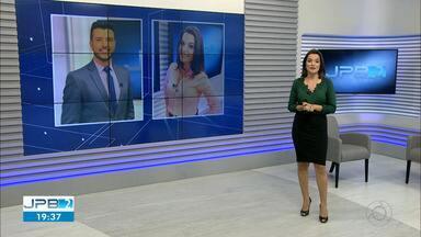JPB2JP: Faltam 40 dias para Larissa Pereira e Matheus Ribeiro apresentarem o JN - Dia 9 de novembro está chegando!!!