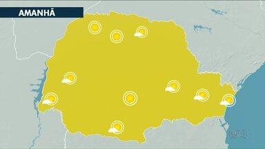 Veja como vai estar o clima neste primeiro dia de outubro - Temperaturas acima dos 30ºC em Cianorte, Umuarama e Paranavaí.