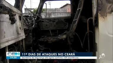11º dia de ataques no Ceará - Confira mais notícias em g1.globo.com/ce