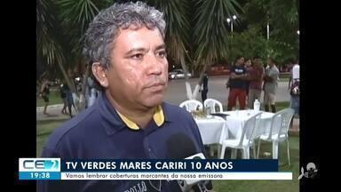 Vamos lembrar coberturas marcantes da TV Verdes Mares Cariri - Confira mais notícias em g1.globo.com/ce