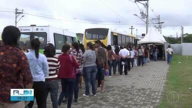 Passageiros relatam problemas com bilhete único no primeiro dia do sistema em Campos - Município disse que problema já foi resolvido.