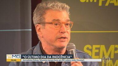 Jornalista Edney Silvestre lança livro em BH sobre João Goulart - 'O Último Dia da Inocência' se passa no dia do histórico comício do ex-presidente, na Central do Brasil, em março de 1964.