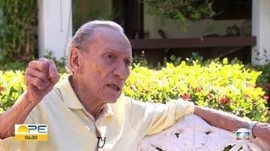 Apresentador Luiz Geraldo morre aos 84 anos - Luiz Geraldo foi um dos pioneiros da TV pernambucana.