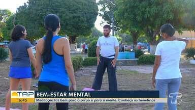 Meditação trabalha corpo e mente, saiba quais benefícios a prática oferece - Modalidade atrai cada vez mais adeptos em Santarém.