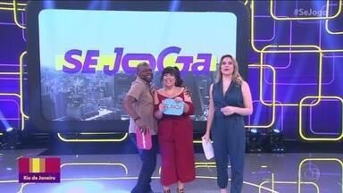 Programa de 01/10/2019 - Reynaldo Gianecchini e Agatha Moreira se jogam nas brincadeiras propostas pelo programa. Confira!