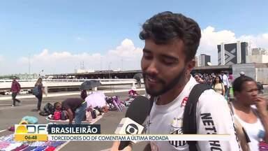 Torcedores analisam rodada do Brasileirão - Torcida em Brasília avalia desempenho dos times no Campeonato Brasileiro.