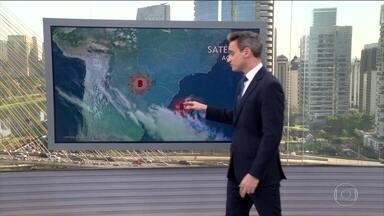 Temporais com ventos fortes e risco de granizo avançam pelo Rio Grande do Sul - Oeste de Santa Catarina, de Mato Grosso e todo o estado de Rondônia também estão na rota dos temporais