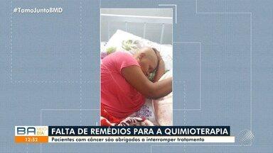 Tratamento contra o câncer é suspenso por falta de remédio e equipamento em Itabuna - O problema foi denunciado ao Ministério Público, que acionou o município e o estado para que resolvam os problemsa em 15 dias.