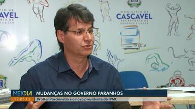 Walter Parcianello é o novo presidente do IPMC em Cascavel - Parcianello já foi secretário de Esporte e Cultura da atual gestão e também foi candidato à prefeito na eleição de 2016.