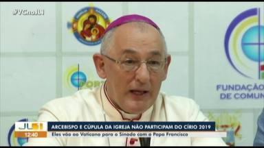 Arcebispo de Belém não participará das festividades do Círio 2019 - Arcebispo de Belém não participará das festividades do Círio 2019