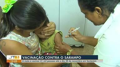Divulgado balanço do Dia D de vacinação contra o sarampo em Santarém - Objetivo é imunizar 41 mil pessoas até 30 de novembro.