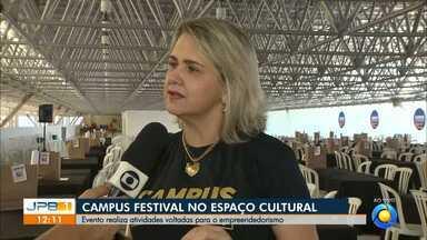 Começa Campus Festival em João Pessoa - Evento acontece até o próximo dia cinco em João Pessoa.