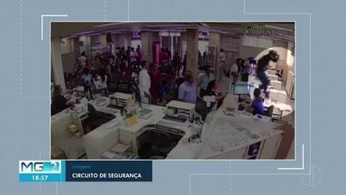 Câmeras flagram tentativa de assalto aos Correios em Montes Claros - Um dos criminosos foi preso e o outro está sendo procurado.