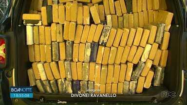 Polícia Rodoviária Federal apreende quase meia tonelada de cocaína na BR-277 - Polícia estima que valor da apreensão ultrapasse R$ 10 milhões