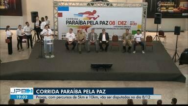 JPB2JP: Corrida Paraíba pela Paz - Provas, com percursos de 5km e 10km, vão ser disputadas no dia 8/12.