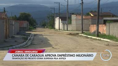 Vereadores de Caraguá aprovam empréstimo que autoriza empréstimo milionário - Votação ocorreu mesmo com decisão que mandava retirar do projeto da pauta.