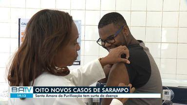Sesab confirma mais 8 casos de sarampo na Bahia - Sete casos foram registrados somente na cidade de Santo Amaro.