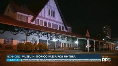 Museu histórico de Londrina terá restrição para visitas - Por causa de algumas reformas haverá interdição em algumas exposições
