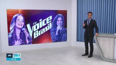 Duelo de Lucia Muniz e Pollyana Caires é marcado pela emoção - As duas se enfrentaram no The Voice, pelo time Lulu Santos