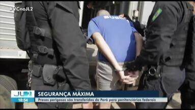Mais 8 presos envolvidos no Massacre em Altamira são transferidos para presídios federais - Com a operação, chega a mais de 50 o número depresos transferidos.