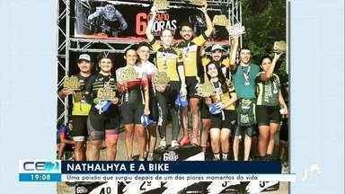 Jovem encontra no ciclismo a chance de recomeçar e viver conquistas - Confira mais notícias em g1.globo.com/ce