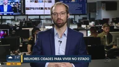 Pesquisa aponta a cidade de Carlos Barbosa como melhor cidade do RS para viver - Daniel Scola fala sobre o assunto.