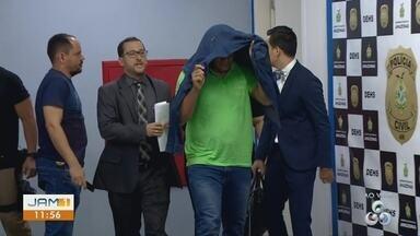 Suspeito de morte de engenheiro se entrega à polícia em Manaus - Suspeito de morte de engenheiro se entrega à polícia em Manaus.