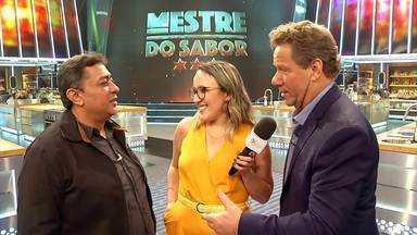 'Sabores Daqui' descobre as novidades do 'Mestre do Sabor' - Camila Santos acompanhou os bastidores do novo reality gastronômico.