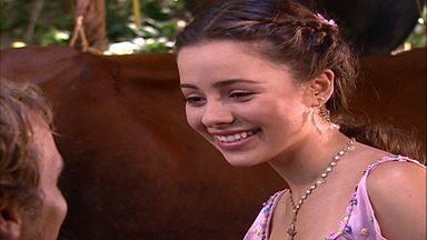 Capítulo de 27/03/2001 - Cristal decide sair da comunidade com Tony. Dominique recebe flores de Michael. Cristal enfrenta Su-Sukham, que quase expulsa Tony. Vanessa embarca para Pirenópolis.