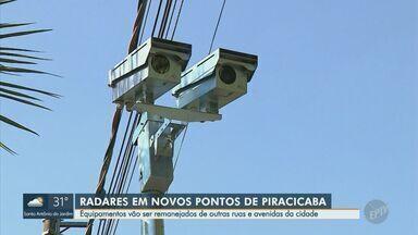 Após estudo, Prefeitura de Piracicaba vai remanejar onze radares de trânsito - Estudo concluiu que os equipamento eram mais necessários em outros pontos da cidade.