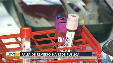 Pacientes reclamam da falta de medicamentos em hospital de São Luís - Quem precisa, diz que um medicamento usado no tratamento de púrpura simplesmente sumiu dos hospitais.