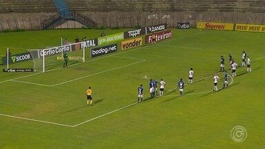 Bragantino vence reservas do São Bento e dispara na liderança - Líder do campeonato não encontra dificuldades para vencer fora de casa e afundar rival na zona de rebaixamento.