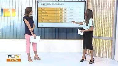 Tempo continua estável no Sul do Rio de Janeiro e Costa Verde - Confira fica o clima nas cidades da região na Previsão do Tempo.