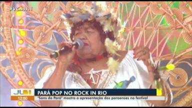Apresentação de artistas paraenses no Rock in Rio é transmitida pela TV Liberal - Veja como foi ese espetáculo de paraenses.