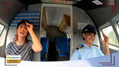 Em Rondônia, homem constrói casa em formato de avião - O próximo passo será a construção de um simulador de voos.