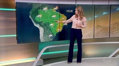 Chuva e vento provocam estragos em Teresina (PI) - Veja a previsão do tempo para todo o país neste fim de semana.