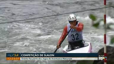 Foz do Iguaçu tem competição de canoagem slalon neste fim de semana - Evento faz parte dos Jogos de Aventura e Natureza.