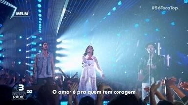 Melim canta 'Gelo' - Banda tem quase de dois milhões de seguidores nas redes sociais