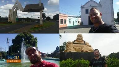 De carro, jovem conheceu todas as 399 cidades do Paraná - Em três anos e meio, ele viajou de carro e conheceu todo o estado.