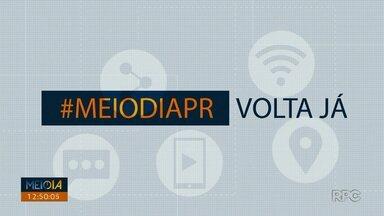 Telespectadores chama o intervalo do Meio Dia Paraná - Participe também pelo 9 9972-5178