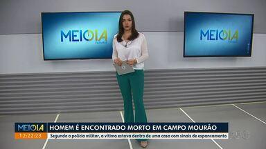 Homem é encontrado morto em Campo Mourão - Segundo a polícia militar, a vítima estava dentro de uma casa com sinais de espancamento