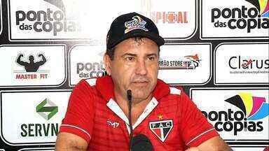 Técnico do Ferroviário quer levar a equipe para mais uma final da Taça Fares Lopes - Zé Teodoro e equipe precisam vencer na competição