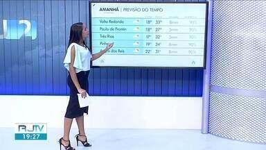 Calor continua neste domingo no Sul do Rio de Janeiro - Há possibilidade de chuva fraca e isolada em algumas cidades da região.