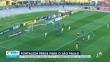 Acompanhe os gols entre Fortaleza e São Paulo pelo Brasileirão - Confira mais notícias em g1.globo.com/ce
