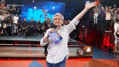 Programa de 05/10/2019 - O programa recebe os cantores Thiaguinho, Paulo Ricardo, a dupla sertaneja Marcos & Belutti e MC Soffia.