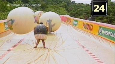 Olimpíadas do Faustão apresenta 'Avalanche' - Relembre quadro clássico do 'Domingão'